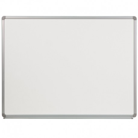 MFO 4' W x 3' H Porcelain Magnetic Marker Board