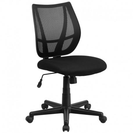 MFO Mid-Back Black Mesh Task Chair