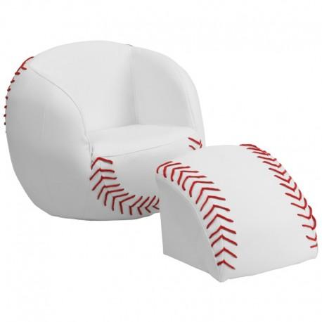 MFO Kids Baseball Chair and Footstool