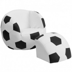 MFO Kids Soccer Chair and Footstool