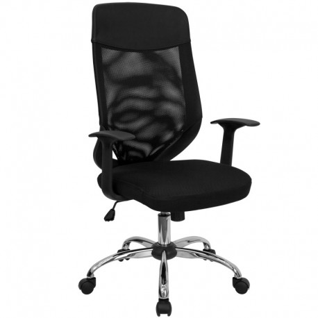 MFO High Back Mesh Office Chair with Mesh Fabric Seat