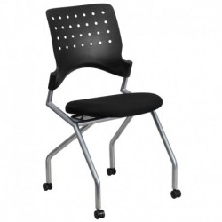 MFO Galaxy Mobile Nesting Chair with Black Fabric Seat