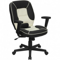 MFO Mid-Back Vinyl Steno Executive Office Chair
