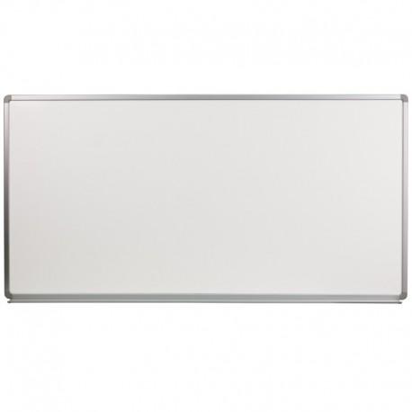 MFO 6' W x 3' H Porcelain Magnetic Marker Board