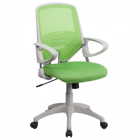 MFO Mid-Back Green Mesh Office Chair