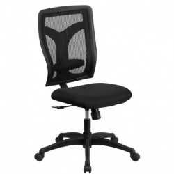 MFO Galaxy High Back Designer Back Task Chair with Padded Fabric Seat