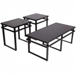 MFO Stalwart 3 Piece Occasional Table Set