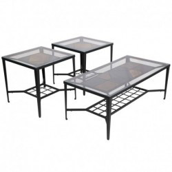 MFO Unsullied 3 Piece Occasional Table Set