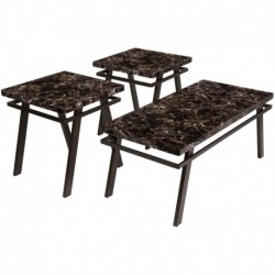 MFO Fetzini 3 Piece Occasional Table Set
