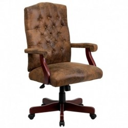MFO Bomber Brown Classic Executive Office Chair
