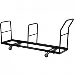 MFO Vertical Storage Folding Chair Dolly - 35 Chair Capacity