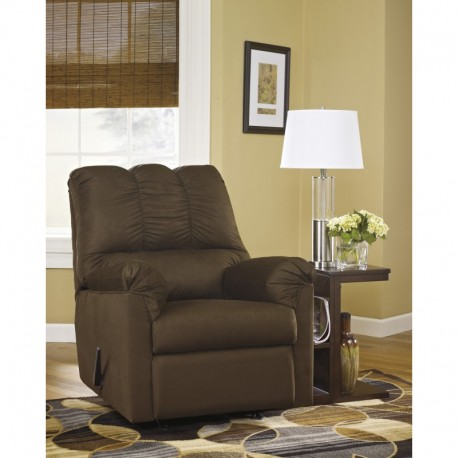 MFO Eliana Rocker Recliner in Cafe Fabric