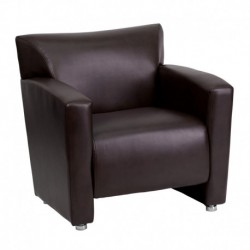 MFO Sage Collection Brown Leather Chair