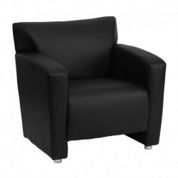 MFO Sage Collection Black Leather Chair
