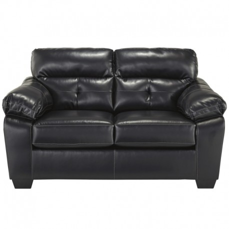 MFO Benchcraft Glamour Loveseat in Midnight DuraBlend