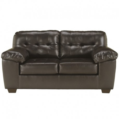 MFO Glamour Loveseat in Chocolate DuraBlend