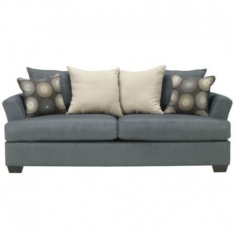 MFO Cindy Sofa in Indigo Fabric