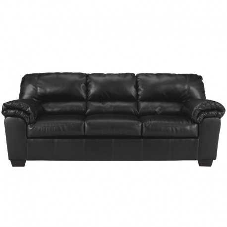 MFO Lisa Sofa in Black Leather