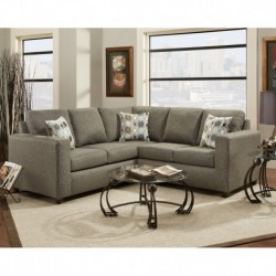 MFO Vivid Onyx Fabric Sectional