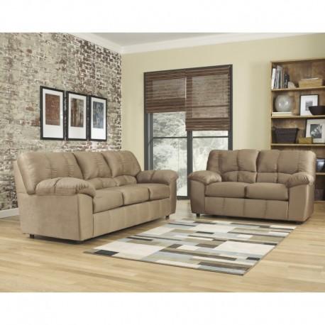 MFO Champion Living Room Set in Mocha Fabric