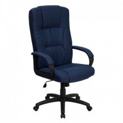 MFO High Back Navy Fabric Executive Office Chair