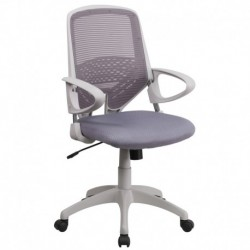MFO Mid-Back Dark Gray Mesh Office Chair