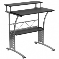 MFO Clifton Black Computer Desk