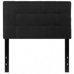 MFO Gale Collection Twin Size Headboard in Black Fabric