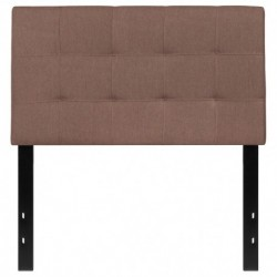 MFO Gale Collection Twin Size Headboard in Camel Fabric