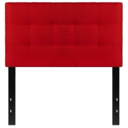 MFO Gale Collection Twin Size Headboard in Red Fabric