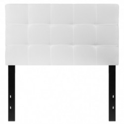 MFO Gale Collection Twin Size Headboard in White Fabric