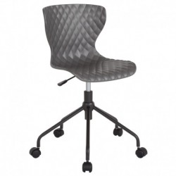 MFO Arthur Collection Contemporary Design Gray Plastic Task Office Chair