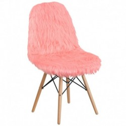 MFO Shaggy Dog Hermosa Pink Accent Chair