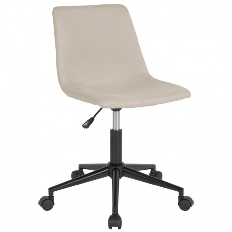 MFO Camila Collection Task Chair in Beige Fabric