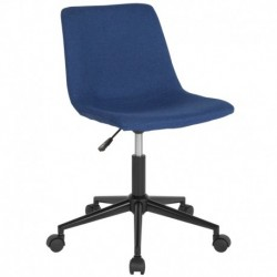 MFO Camila Collection Task Chair in Blue Fabric