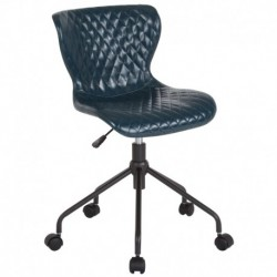 MFO Oxford Collection Task Chair in Blue Vinyl