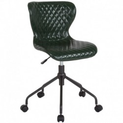 MFO Oxford Collection Task Chair in Green Vinyl