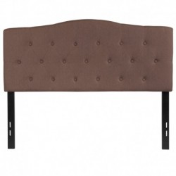 MFO Diana Collection Full Size Headboard in Camel Fabric