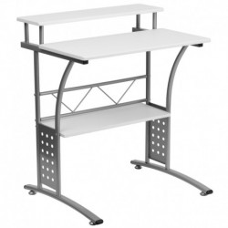 MFO Clifton White Computer Desk