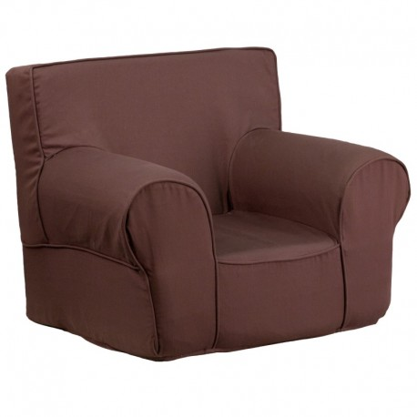 MFO Small Solid Brown Kids Chair