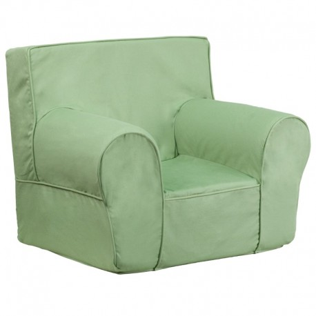 MFO Small Solid Green Kids Chair