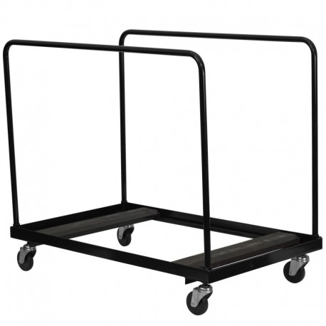 MFO Black Folding Table Dolly for Round Folding Tables