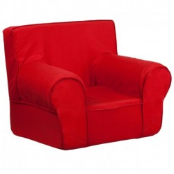MFO Small Solid Red Kids Chair