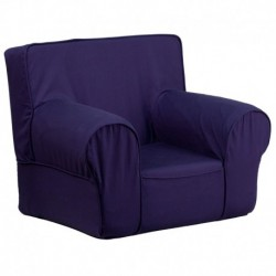MFO Small Solid Navy Blue Kids Chair