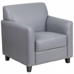 MFO Stanford Collection Gray Leather Chair