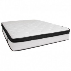 MFO Armand Collection 12 Inch Memory Foam and Pocket Spring Mattress, Queen in a Box