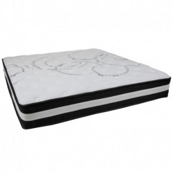 MFO Camila Collection 12 Inch Foam and Pocket Spring Mattress, King in a Box